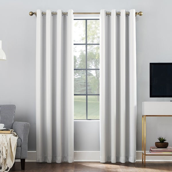 Sun Zero Oslo Total Blackout Grommet Curtain Panel. Opens flyout.