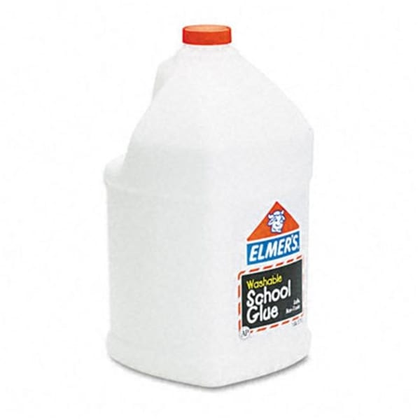 Elmers E340 Washable School Glue 1gal Liquid