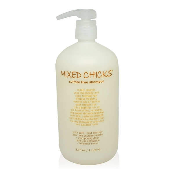 Mixed Chicks Sulfate-Free Shampoo 33 Oz