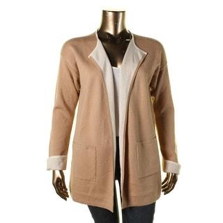 Lauren Ralph Lauren Womens Cuffed Open Front Cardigan Sweater - XL