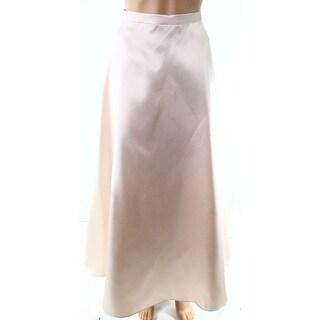 Alex Evenings Beige Women's Size Large PL Petite A-Line Skirt