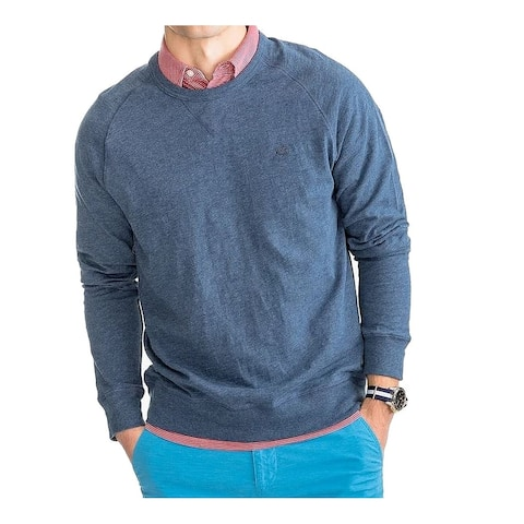 Southern Tide Mens Sweater Blue Size Small S Crewneck Pullover Heather