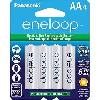 PANASONIC SPKBK3MCCA4BAW Panasonic eneloop AA New 2100 Cycle Ni-MH Pre-Charged Rechargeable Batteries