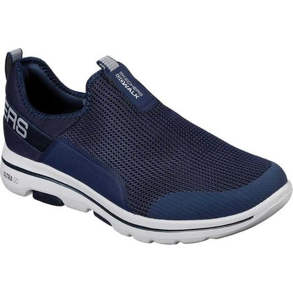 Shop Skechers Men's GOwalk 5 Downdraft Slip On NavyGray