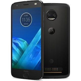 Motorola Moto Z2 Force XT1789 64GB T-Mobile Locked Phone w/ Dual 12MP Camera - Super Black (Certified Refurbished) - super black