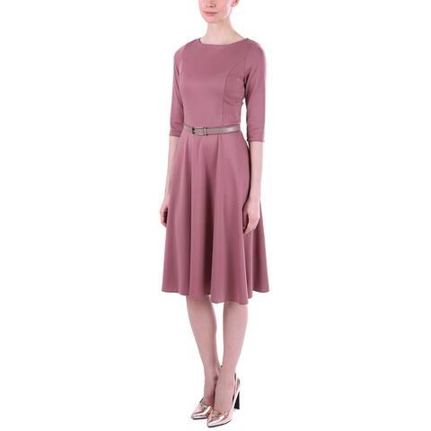Laura Bettini Wool-Blend Dress