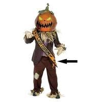 "Pack of 6 Lime Green Halloween Best Costume Satin Sash 33"""