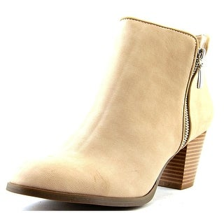 Style & Co Jamila Women Round Toe Synthetic Nude Ankle Boot