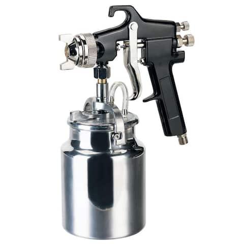 Speedway 50180 Industrial Paint Spray Gun, 1 Qt