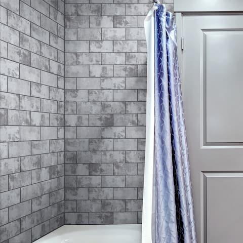 """SomerTile Biarritz Grey 3"""" x 6"""" Ceramic Wall Tile"""