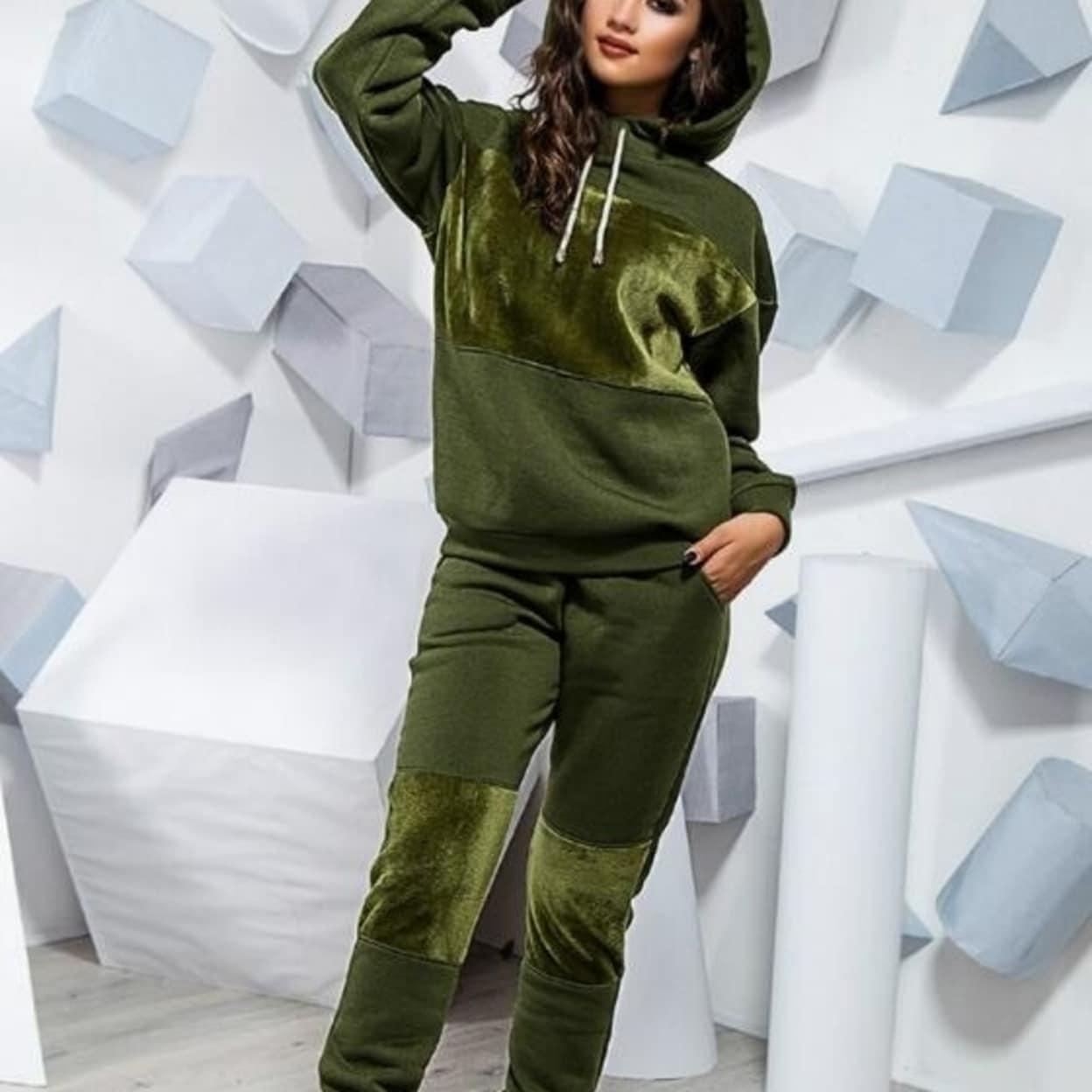 Details about  /Women Tracksuit Hoodie Long Sleeve Sweatshirt Tops Pants Set Loungewear Suits
