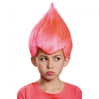 Pink Wild & Wacky Vibrant Costume Wig Child