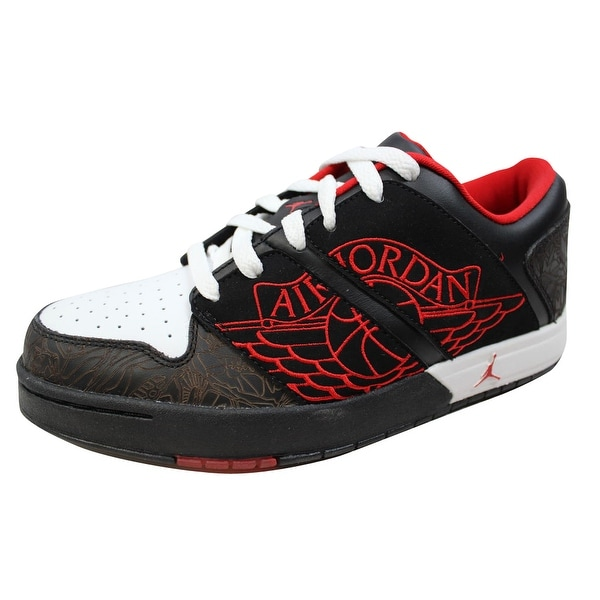 Nike Women's Air Jordan Nu Retro 1 Low Black/Sport Red-White 317105-061