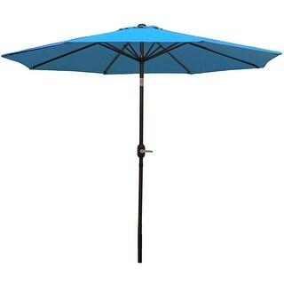 Sunnydaze Aluminum 9 Foot Patio Umbrella with Tilt & Crank (4 options available)