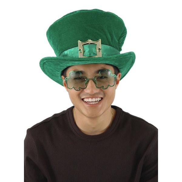 Irish Green Lucky Leprechaun Adult Hat Costume Accessory