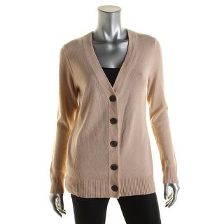 Private Label Womens Cashmere Button-Down Cardigan Sweater - M
