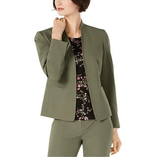 Link to Nine West Womens Solid Blazer Jacket Similar Items in Suits & Suit Separates