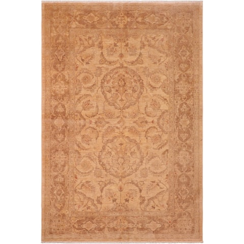 """Bohemien Ziegler Delila Hand Knotted Area Rug -5'11"""" x 9'1"""" - 5 ft. 11 in. X 9 ft. 1 in."""