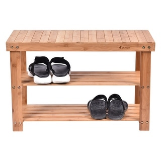 Pina Solid Wood Shoe Bench Free Shipping Today