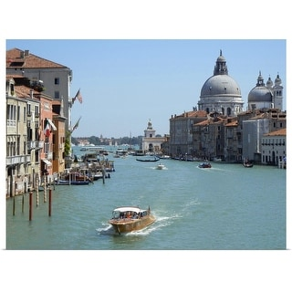 """""""Grand Canal"""" Poster Print"""