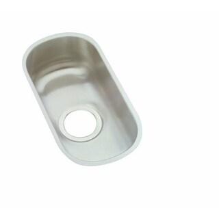 "Elkay ELUH715 Harmony 10"" Single Basin 18-Gauge Stainless Steel Kitchen Sink for Undermount Installations with SoundGuard"