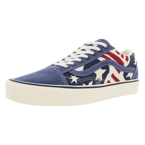 213aedcf0d Blue Vans Shoes | Shop our Best Clothing & Shoes Deals Online at ...