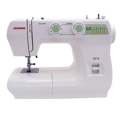 Janome 2212 Sewing Machine - White
