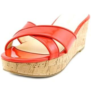 Marc Fisher Cilla 2 Women Open Toe Synthetic Wedge Sandal