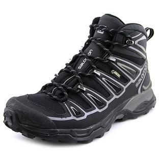 Salomon X Ultra Mid 2 GTX Men Round Toe Synthetic Black Hiking Boot