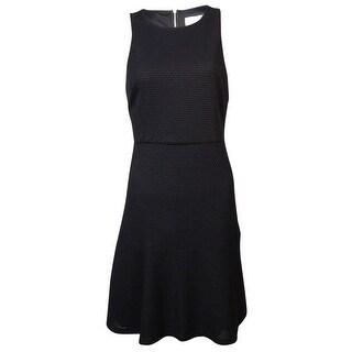 Jessica Simpson Women's Sleeveless Fit & Flare Mesh Dress - 10