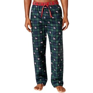 Tommy Hilfiger Mens Pajama Bottoms Woven Pants - M