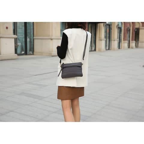MKF Collection Priyanka Nylon Crossbody Bag by Mia K.