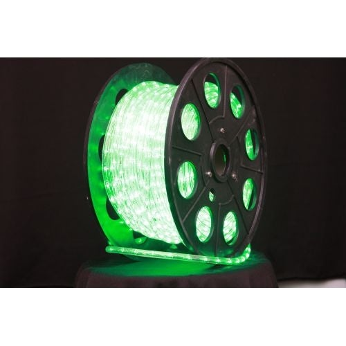 christmas at winterland c rope led gr 1 10 150 foot 10mm green led rope light with 1 inch spacing 36 inch cut length and free shipping today