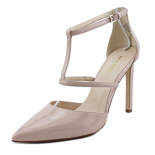 Nine West Tornaydo Open Toe Synthetic Platform Heel