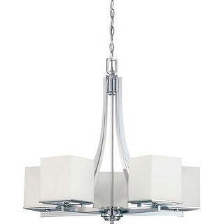 Nuvo Lighting 60/4086 5 Light Up Lighting Chandelier from the Bento Collection
