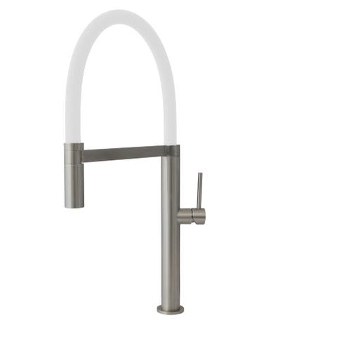 STYLISH Stainless Steel Single Handle Pull Out Dual Mode Kitchen Sink Faucet