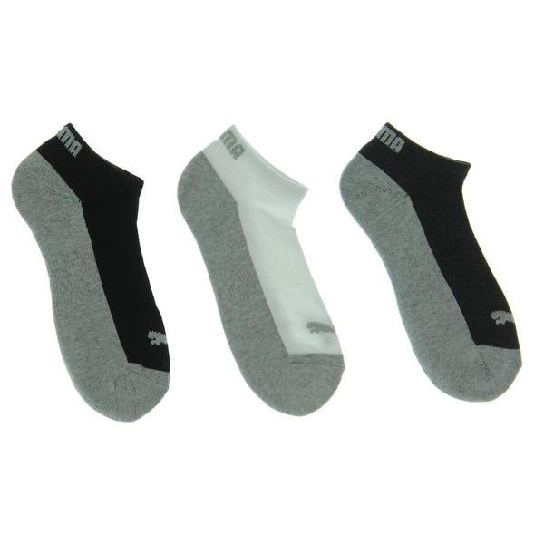 Puma Womens Low-Cut Socks 6PK 1/2 Terry - 9-11
