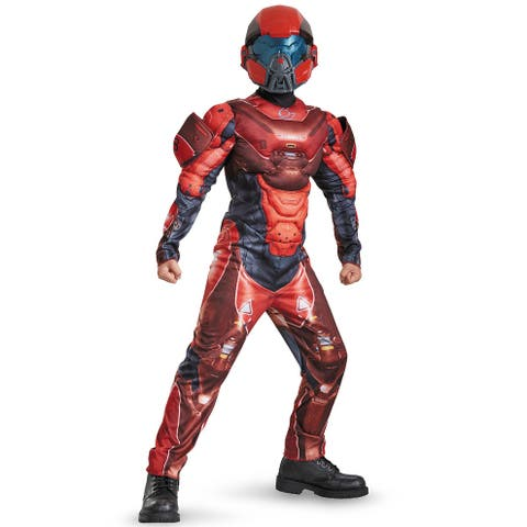 Disguise Red Spartan Classic Muscle Child Costume