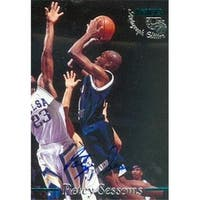 Petey Sessoms autographed Basketball Card (Old Dominion) 1995 Classi