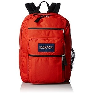 JanSport Big Student Classics Series Backpack - Blue - Black - 12 x 8 x 4 inches