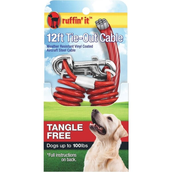 Westminster Pet 12'Tngl Fre Tieout Cable