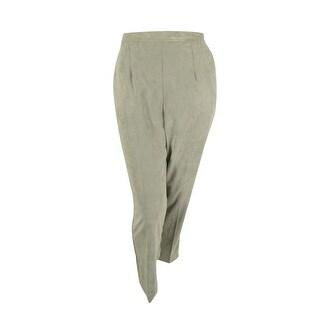 Alfred Dunner Women's Corduroy Alpine Lodge Elastic Waist Pants