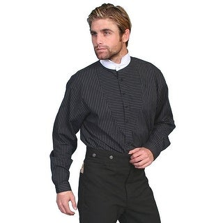 Scully Western Shirt Mens Stripe Long Sleeve Button Front Formal