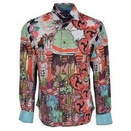 NEW Robert Graham SLIM Fit MISUNDERSTOOD Limited Edition Sport Shirt 2XL XXL