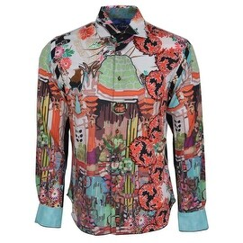 NEW Robert Graham SLIM Fit MISUNDERSTOOD Limited Edition Sport Shirt Medium