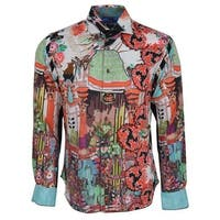 Robert Graham SLIM Fit MISUNDERSTOOD Limited Edition Sport Shirt XL