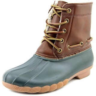 Seven7 Speyside Women  Round Toe Synthetic Green Rain Boot