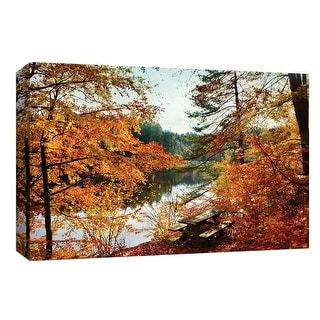"""PTM Images 9-147967  PTM Canvas Collection 8"""" x 10"""" - """"Into the Fire"""" Giclee Forests Art Print on Canvas"""