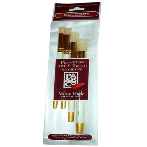 Princeton 9305 brush set oil and acrylic stencil 1/4 3/8 1/2 and 5/8