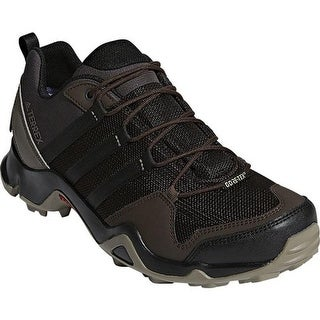 adidas Men's Terrex AX 2.0 R GORE-TEX Hiking Shoe Night Brown/Black/Simple Brown